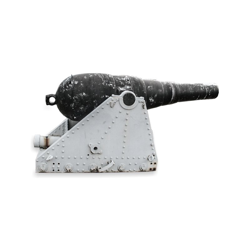 9-inch Rifled Muzzle Loading Gun
