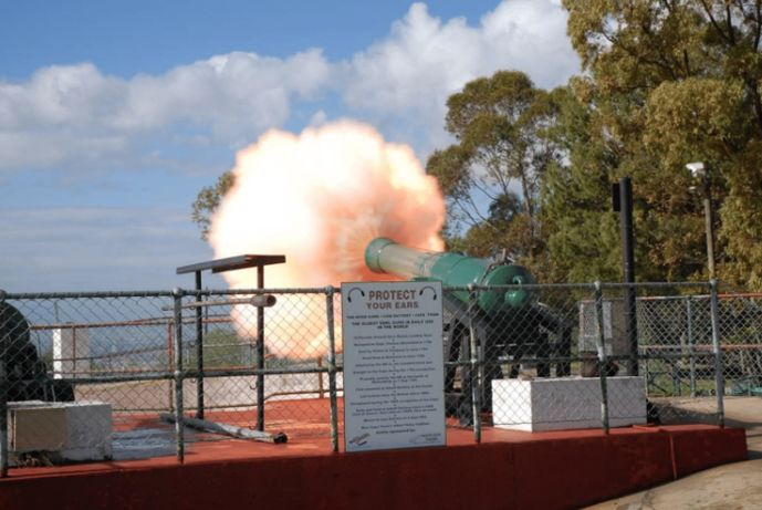 Firing of muzzle loading cannons 11
