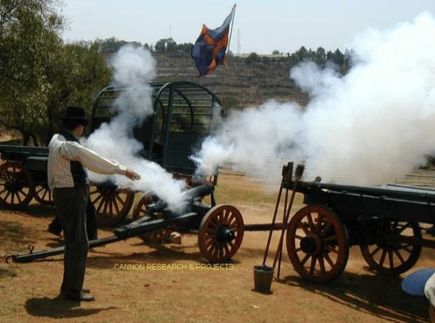 Firing of muzzle loading cannons 17